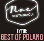 BEST WESTERN Hotel Cristal w Białymstoku z nowym szefem kuchni i nagrodą Grand Prix Fanów Nocy Restauracji 2015
