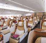 Szersze fotele w klasie biznes na pokładzie Boeinga 777 Emirates