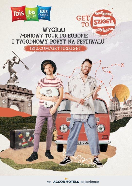"""""""Get to Sziget"""" – wygraj muzyczną przygodę z rodziną hoteli ibis!"""
