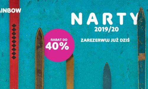 NARTY / SYLWESTER 2019/20 – w Rainbow ruszyła właśnie przedsprzedaż zimowej oferty