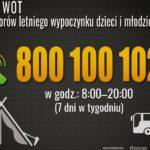 800-100-102: infolinia wsparcia organizatorów wypoczynku