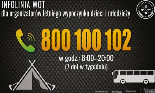 800-100-102 – zadzwoń i dowiedz się jak zorganizować bezpieczny wypoczynek dla dzieci i młodzieży