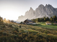 Dystans społeczny podczas wakacji – w Dolomitach to naturalna sprawa